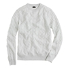 Cashmere Cable Sweater J.Crew Cashmere Men's Sweaters J.Crew