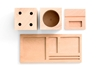 Kukka Blocks Desk Set Vetted