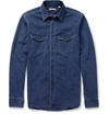 Burberry Brit Regular Fit Washed Denim Shirt