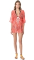 Milly Ava Drawstring Tunic Cover Up 7c SHOPBOP