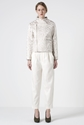 RAMPLING SHINY SUIT OFF WHITE 7c Rodebjer