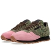 Reebok X Shoe Gallery Classic Leather Camo Pink