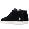 Adidas Consortium X Undftd X Neighborhood Official Mid 80S Black Chalk