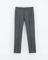 Herringbone Trousers Trousers Woman Zara United Kingdom