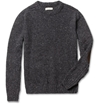 Oliver Spencer c2 a0Elbow Patch Lambswool Blend Sweater c2 a0 7c c2 a0MR PORTER