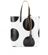 Mytheresa.Com Printed Faux Leather Shopper Shoppers Bags Luxury Fashion For Women Designer Clothing Shoes Bags