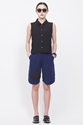 Totokaelo Assembly New York Pleated Short Blue Yin Yang
