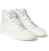 Balenciaga Embossed Leather High Top Sneakers Mr Porter