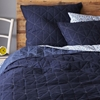 Nomad Coverlet Shams Deep Sea West Elm