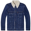 Levi's Vintage 1967 Type Iii Sherpa Lined Trucker Jacket Loved Wash