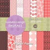 Sweet Pink 2 Instant Download Digital By ... Surface Pattern Design