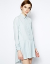 Mih Jeans Mih Jeans Chambray Shirt Dress At Asos