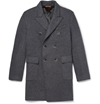 Barena Double Breasted Knitted Wool Blend Coat Mr Porter