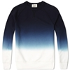 Acne College Degrade Sweater Blue