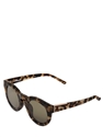 Linda Farrow X 3.1 Phillip Lim Printed Round Matte Acetate Sunglasses Luisaviaroma Luxury Shopping Worldwide Shipping Florence