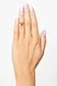 Skull Knuckle Ring Gold in Accessories at Nasty Gal