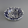 Labour And Wait Marbled Enamel Dish Navy