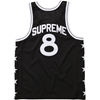 Supreme 3a Basketball Tank Black