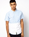 Native Youth Native Youth Cut Sew Shirt At Asos