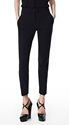 Women's Pants Suiting Pants Work Trousers Leather Leggings And Cotton Leggings Theory