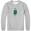 Carven Little Chap Crew Sweat Grey