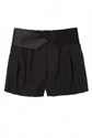 DKNY 7c Tuxedo Pleat Front Short by DKNY