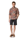 Creep by Hiroshi Awai Men 27s Tribal Prints Button Down Shirt at MYHABIT