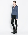 High Waist Skinny Jeans Shirts Woman Zara United Kingdom