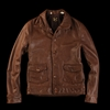 UNIONMADE Levi 27s Vintage Clothing 1930s Menlo Jacket in Dark Brown