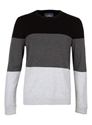 Colour Block Jumper Topman