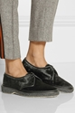 Adieu Type 1 Leather Trimmed Calf Hair Brogues Net A Porter.Com