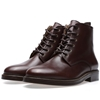 A.P.C. Military Boot Brown