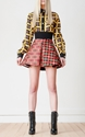 San Domenico Printed Twill Skirt by Fausto Puglisi for Preorder on Moda Operandi