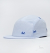 Larose Paris Whale Seersucker Five Panel Cap 49 50 Eur At C Store By Caliroots The Californian Twist Of Lifestyle And Culture