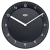 Braun 3a Braun Wall Clock Black BNC006BK e2 80 94 TurntableLab com