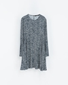 Printed Flounce Dress Woman New This Week Zara United Kingdom