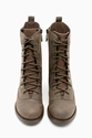 Shoe Cult Diverge Combat Boot Brown In Shoes Shoe Cult At Nasty Gal