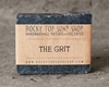 The Grit Scrub Soap Exfoliating Soap Bar Hand By Rockytopsoapshop