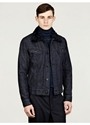 Maison Martin Margiela 14 Men e2 80 99s Detachable Fur Collar Denim Jacket 7c oki ni
