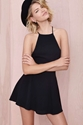After Party Vintage Sianna Dress Black Shop What's New At Nasty Gal