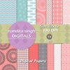 Pink Magic Instant Download Digital Papers By ... Surface Pattern D