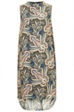High Neck Paisley Print Dress Dresses Clothing Topshop