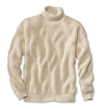 Rib Knit Turtleneck Sweater Cotton Submariner's Sweater Orvis