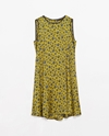 Printed Dress With Buttoned Back Woman New This Week Zara United Kingdom