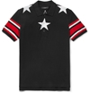 Givenchy Embroidered Star Trim Polo Shirt Mr Porter