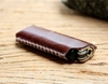 Brown leather lighter case by SakatanLeather on Etsy
