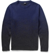 Ps By Paul Smith Ombre Effect Knitted Sweater Mr Porter