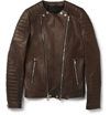 Balmain c2 a0Slim Fit Collarless Leather Biker Jacket c2 a0 7c c2 a0MR PORTER
