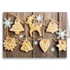Christmas Homemade Gingerbread Cookies Cards Christmas Decorations