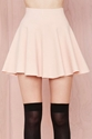 Cream Of The Crop Skirt Blush Shop What's New At Nasty Gal